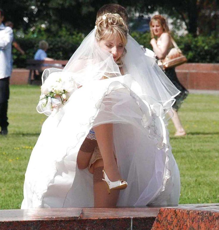 Brides de Bretagne sans culotte