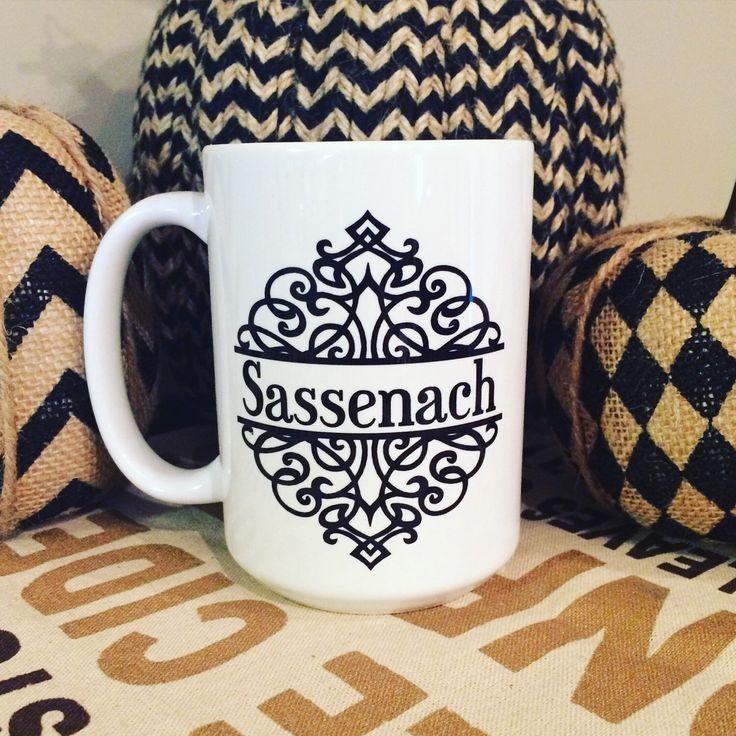 Outlander Sassenach Coffee Mug - 001 by embeemugs on Etsy https://www.etsy.com/au/listing/237904896/outlander-sassenach-coffee-mug-001