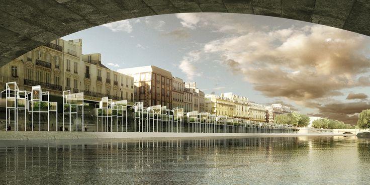 Galería - MenoMenoPiu propone hotel cápsula para turistas en París - 2
