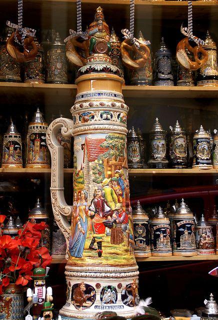 Beer Steins - Rothenburg ob der Tauber, Germany