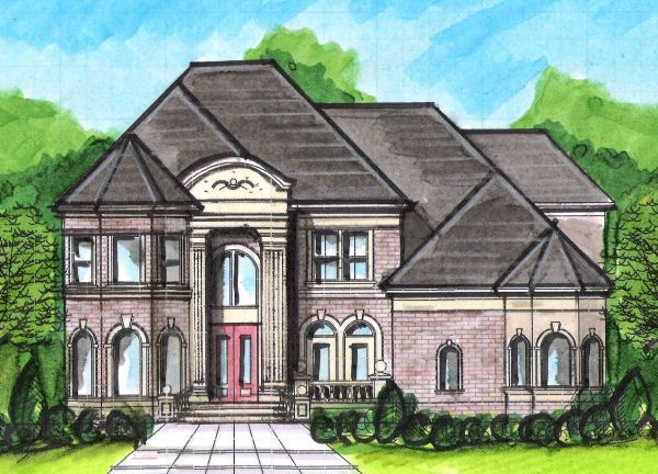 Plan No 395250 House Plans By Westhomeplanners Com House Plans Monster House Plans European House Plan