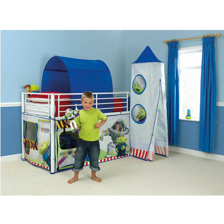 Toy story mid sleeper cabin bed tent new official buzz
