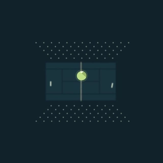 """245 mentions J'aime, 5 commentaires - Jordan Coelho (@coelhojordan) sur Instagram: """"A tiny tennis match, extract from a recent project   #motiondesign #animation #mograph #tennis…"""""""