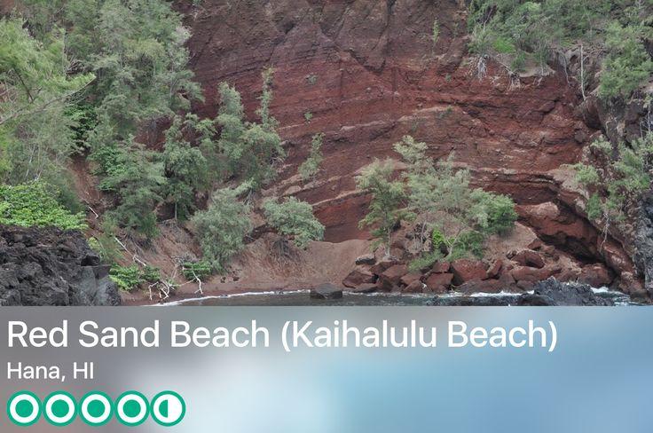 https://www.tripadvisor.com/Attraction_Review-g60630-d4371525-Reviews-Red_Sand_Beach_Kaihalulu_Beach-Hana_Maui_Hawaii.html?m=19904