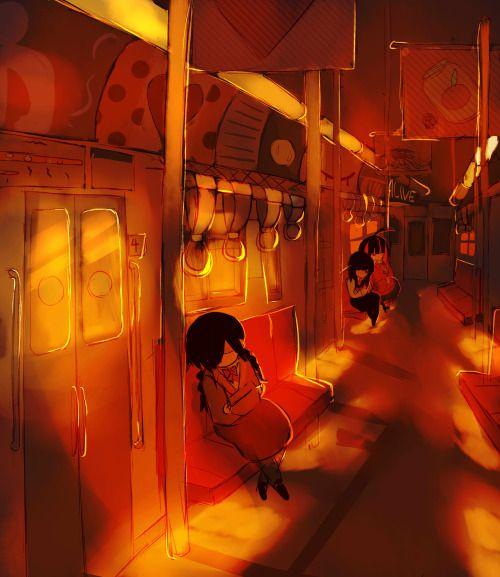 the train home