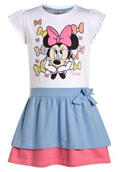 Disney - MINNIE MOUSE - Jersey dress - white