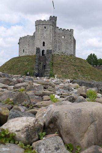 Cardiff Castle, Wales.