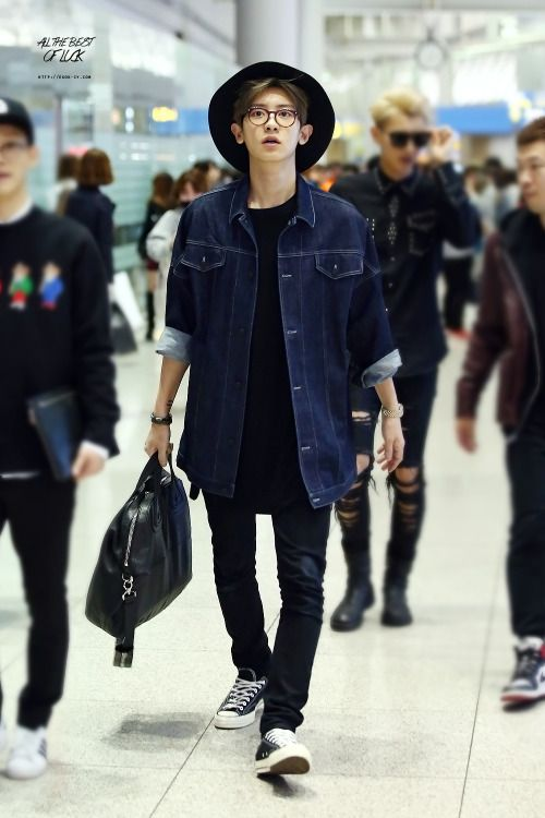 chanyeol fashion style - Buscar con Google