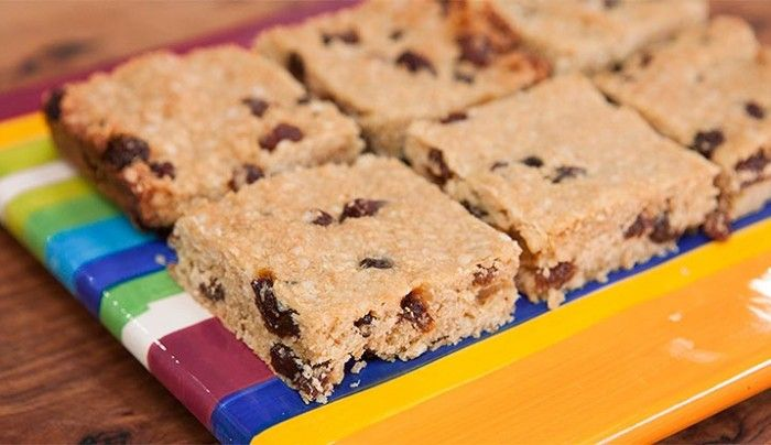 Gluten Free Sultana and Quinoa Slice - Good Chef Bad Chef