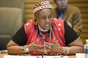 Indigenous Maasai leader Mary Simat praises Indigenous presence in new Kenya Constitution