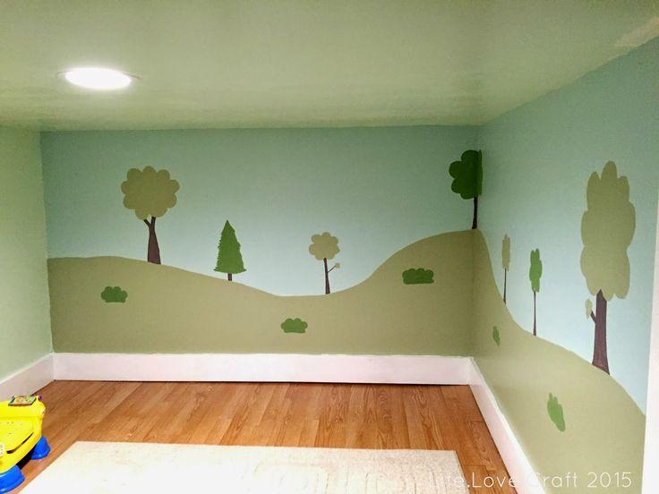 Life.Love.Craft: Playroom Mural
