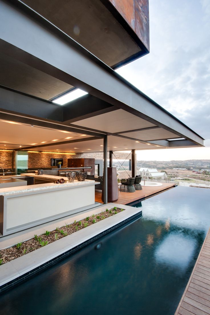 House Boz | Cooking | Nico van der Meulen Architects | M Square Lifestyle Design | M Square Lifestyle Necessities #Contemporary #Architecture #design #inside #outside #open #plan #living #cooking