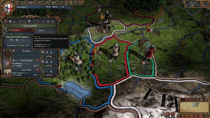Screenshots of Europa Universalis IV Common Sense PC Game