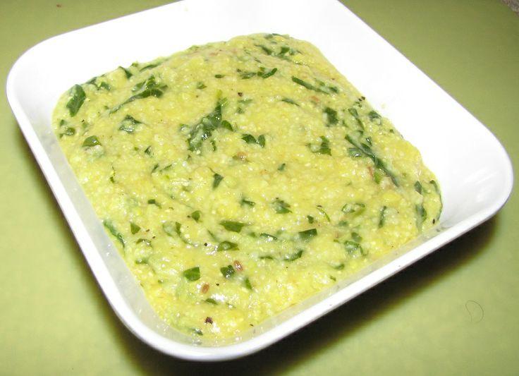 Super Yummy Recipes: Broken Wheat Moong Dal Spinach Khichdi