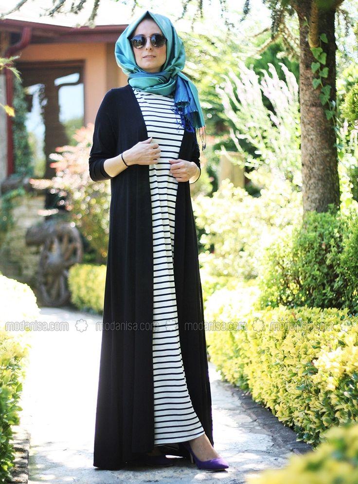 Clothes - Black - Dresses - Modanisa