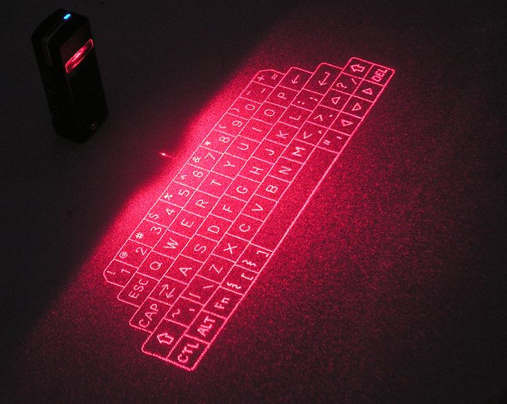 Bluetooth Virtuell Tastatur for fremtiden ?
