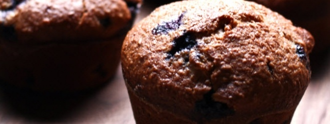 Zeste   Muffins aux bleuets et à la lavande (Patrice Demers)