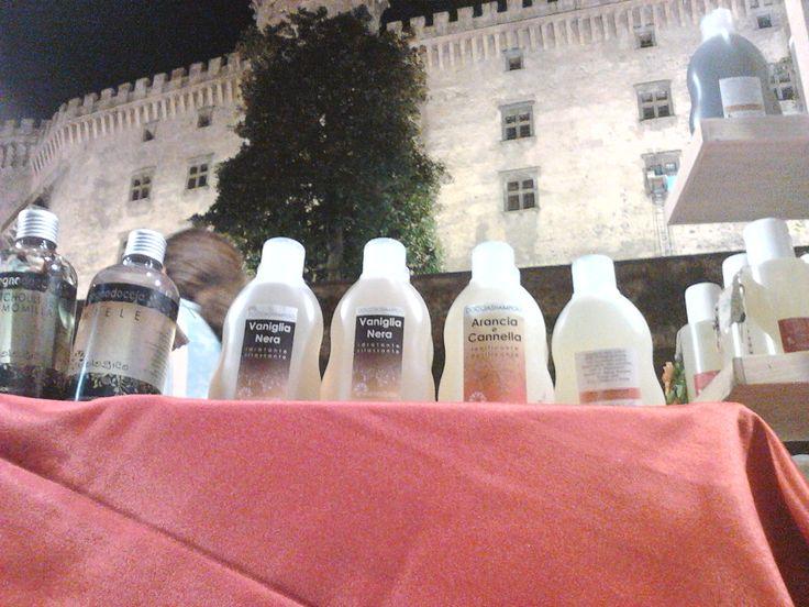 Notte Bianca 2013 a Bracciano, sotto la cornice del castello.