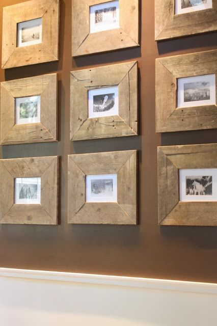 Best 25 pallet picture frames ideas on pinterest pallet for Reclaimed wood dc