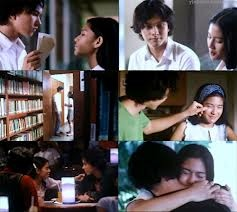 "Dian Sastro & Nicholas Saputra in ""Ada Apa Dengan Cinta "" ( What is it with Love) - the movie"