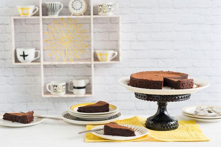 Swedish choc fudge cake