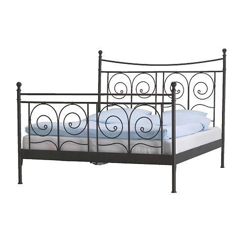 new ikea metal queen bed with mattress black bed framesiron