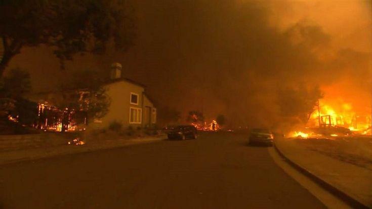 Καλιφόρνια: Δεν έχει τέλος η τραγωδία! Πάνω από 40 νεκρούς από τις φωτιές (video) : aek365