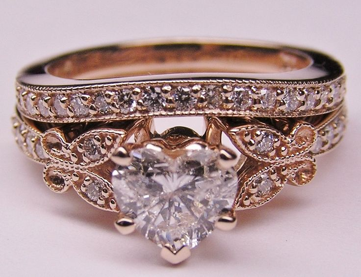 Antique Black Hills Gold Wedding Rings | No wedding is complete without a diamond wedding ring. Diamonds are the preferred st