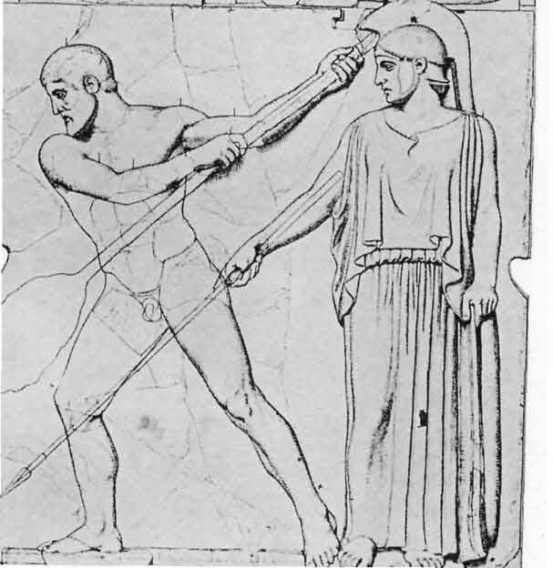 Reinigung der Ställe des Augias, Zeus Tempel