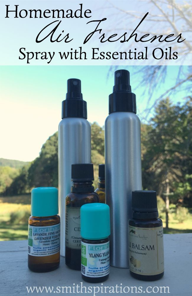 Homemade Air Freshener Spray With Essential Oils Homemade Air Freshener Air Freshener And