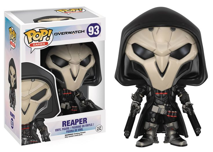 Funko Pop Games Overwatch Reaper Figure 93 Funko Pop
