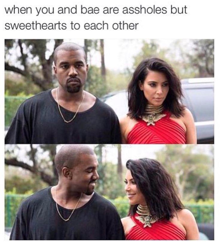 Kim and Kanye meme