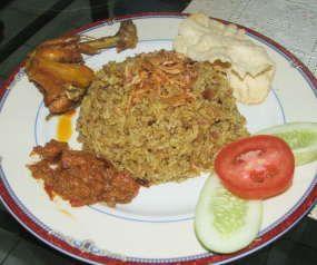 Nasi Kebuli Resep Mertua (Kebuli Rice)