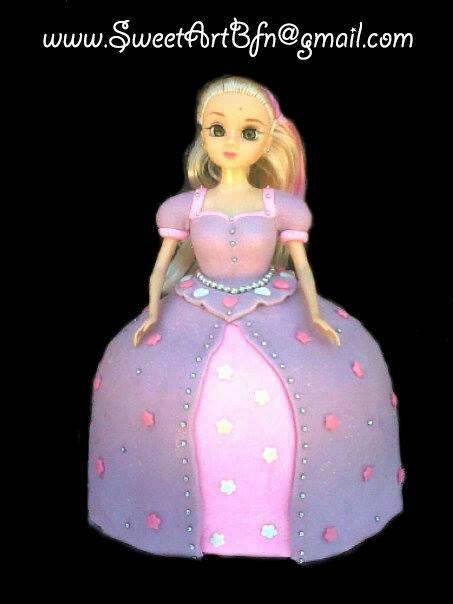 BARBIE Bloemfontein Cake