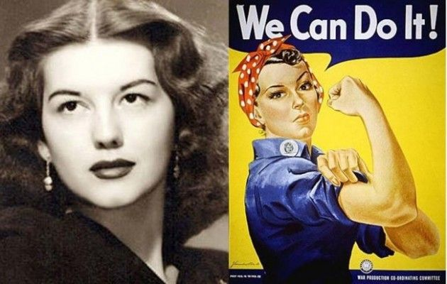 Happy Birthday To The Woman Who Was Likely The Face Of Rosie The Riveter