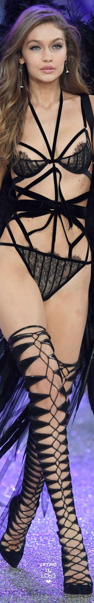 Gigi Hadid 2016 Victoria Secret Fashion Show | LOLO❤︎