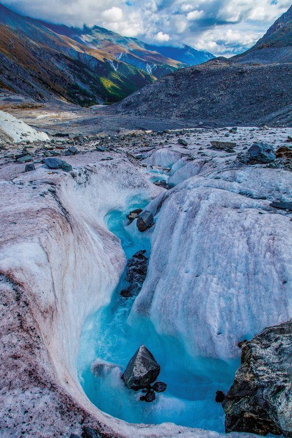 Russia, Altai. Mensu Glasier: