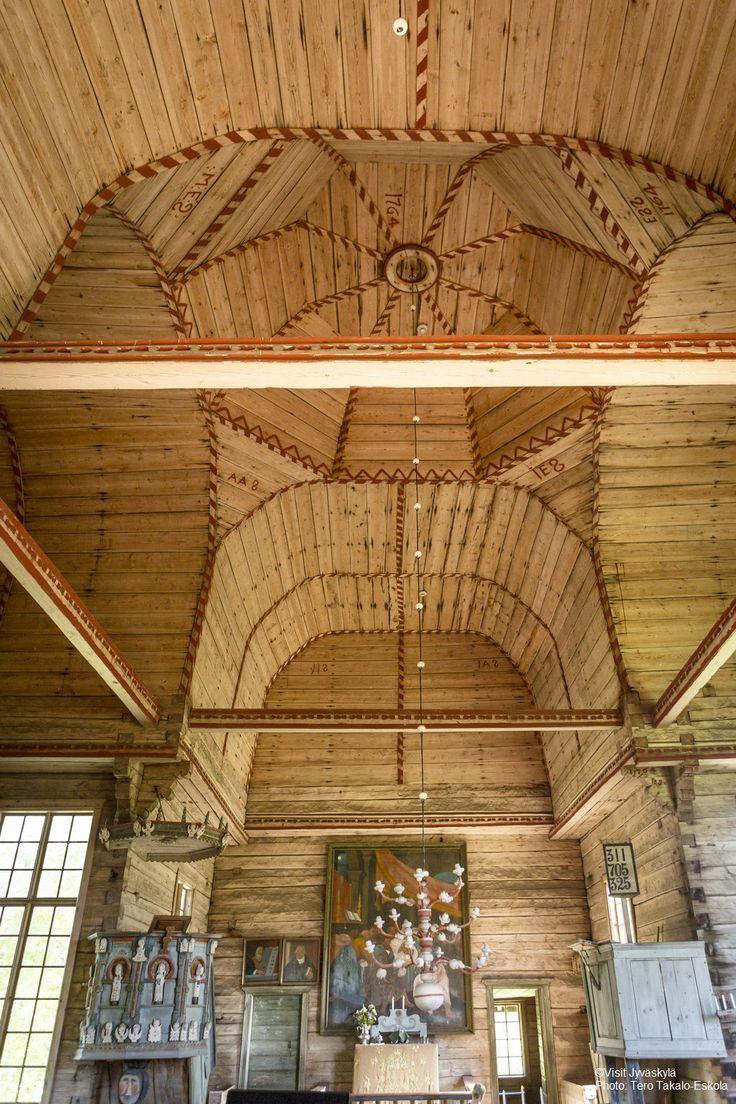 Petäjävesi Old Church. ©Visit Jyväskylä  Photo: Tero Takalo-Eskola.