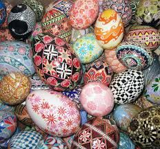 These are Easter eggs in Russia. Easter is the most important Orthodox holiday. Many Russians celebrated Easter by visiting cemeteries to commemorate the deceased, a practice that continues today. That is a little bit about Easter is Russia