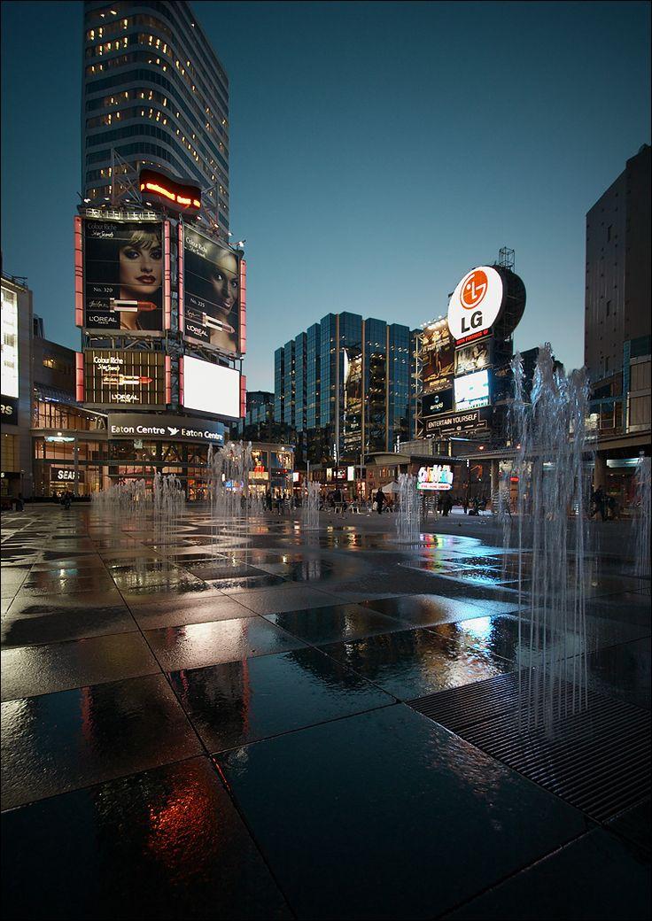 Dundas Square. Toronto Canada.