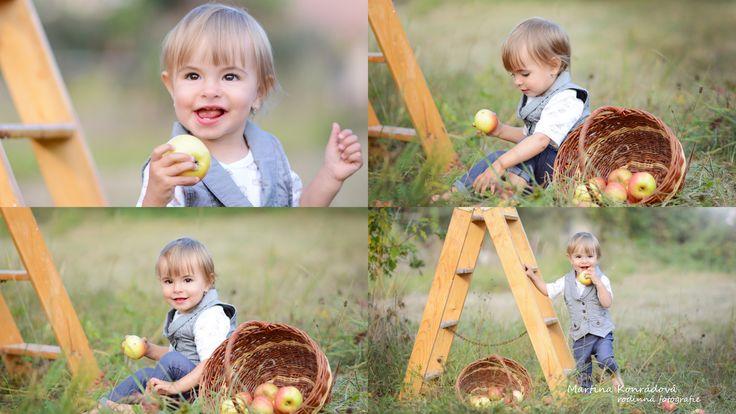 dítě podzim fotografie