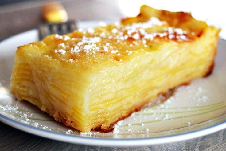 Recette de l'invisible aux pommes au Thermomix TM31 ou TM5. Faites ce dessert en mode étape par étape comme sur votre Thermomix !