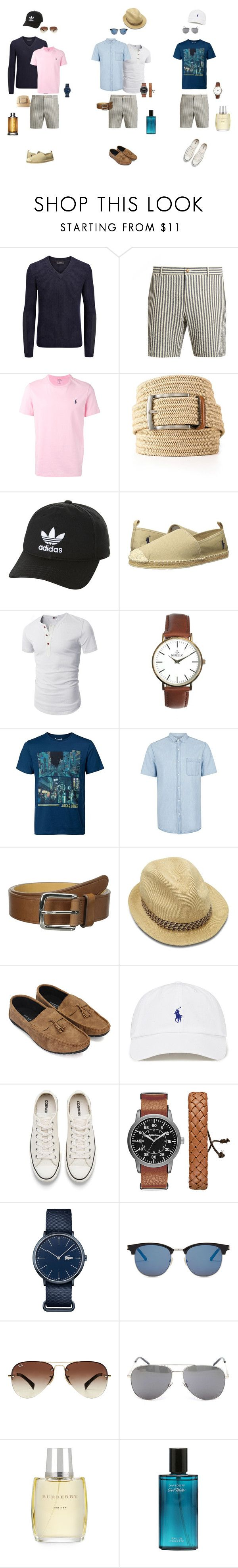 """""""one piece, many ways to wear it"""" by ulusia-1 ❤ liked on Polyvore featuring Joseph, De Bonne Facture, Polo Ralph Lauren, The Men's Store, adidas Originals, Nibello, Jack & Jones, Topman, Cole Haan and Ted Baker"""