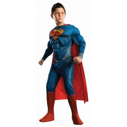 Disfraz de Superman Hombre de Acero musculoso para niño 40 €