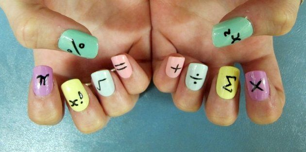 Lovely Back-To-School Nail Art Designs