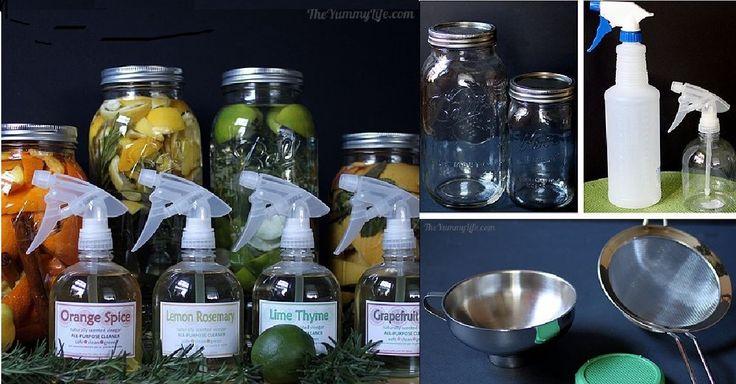 4 recepty na domácí čistící prostředky s přírodními vůněmi