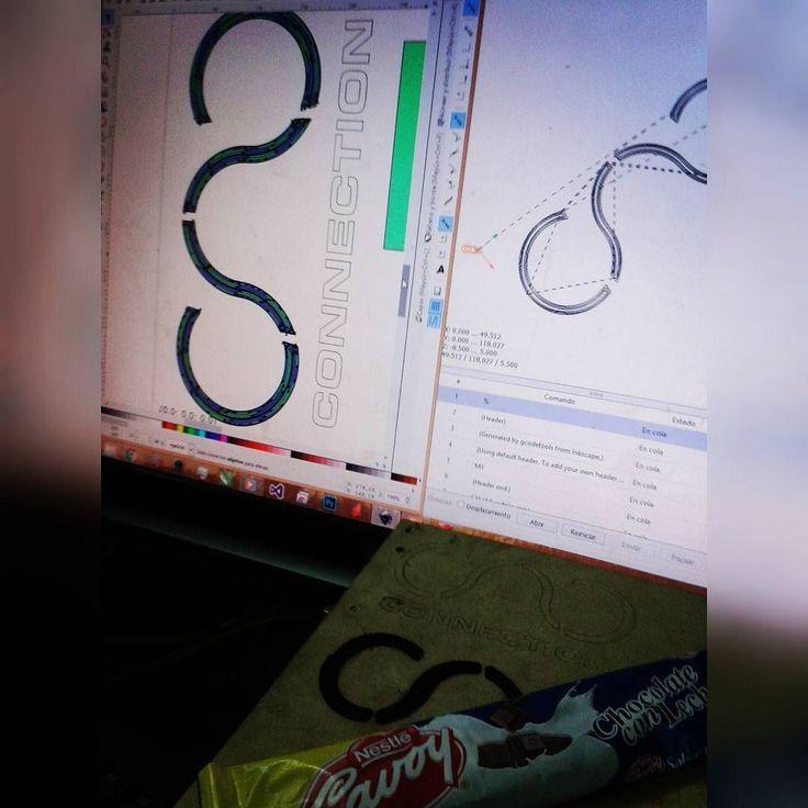 Calibración #cnc #arduinouno #grbl  #pnf #ing #informatica #grbl #cnc #arduino #cncmachine #electronics #arduinouno #gcode #cncrouter #ing #electronic #informatica #diycnc #cadcam #design #machine #custom #coreldraw #art #inkscape #vector #draw #graphic #illustration #architecture #router by rafael19j