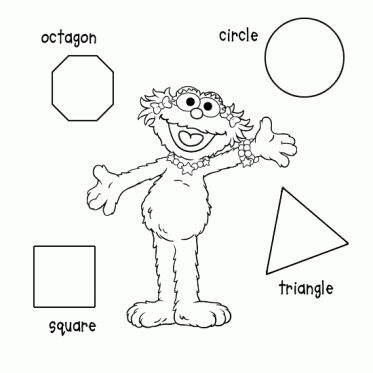 sesame street shapes coloring page_0jpg 373373