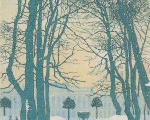 Petersburg. The Summer Garden in winter, 1902