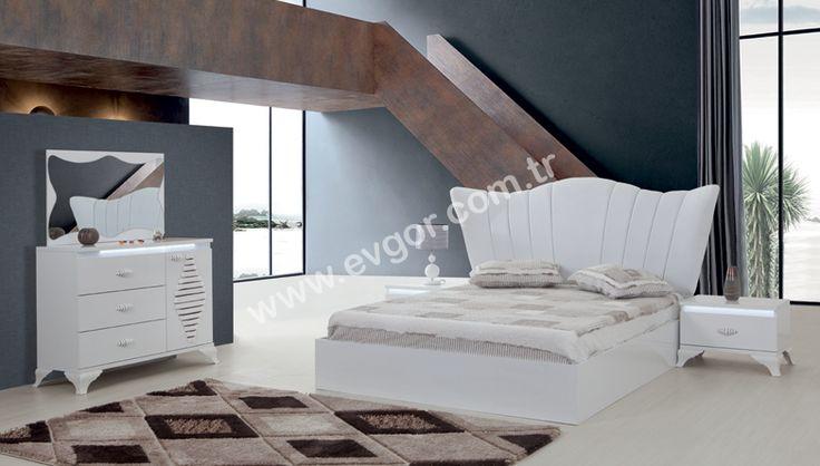 evgor.com.tr Yatak Odası > Modern Yatak Odaları > http://www.evgor.com.tr/K161,yatak-odalari.htm > Yatak Odası Dekorasyon > Efşan Modern Yatak Odası #bedroom #yatakodasi #evgor #mobilya #dekorasyon #home Yeni Moda Yatak Odası Takımları Evgör'de. Modern ve Kaliteli Yatak Odası Takımı ve Modelleri Evgör Mobilya Farkıyla Evinizde !